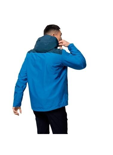 Jack Wolfskin Olfskin Arland 3In1 M Erkek Ceket Mavi